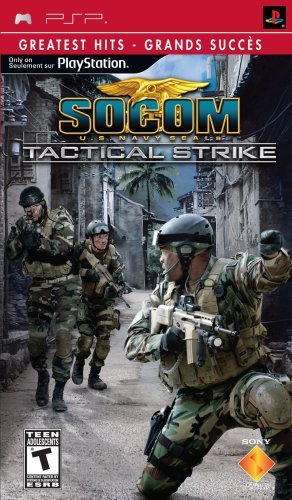 Psp Socom Tactical Strike Sony Computer Entertainme T