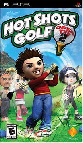 Psp Hot Shots Golf Open Tee 2