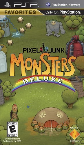 Psp Pixeljunk Monsters Deluxe