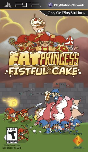 Psp Fat Princess Fistful Of Cake