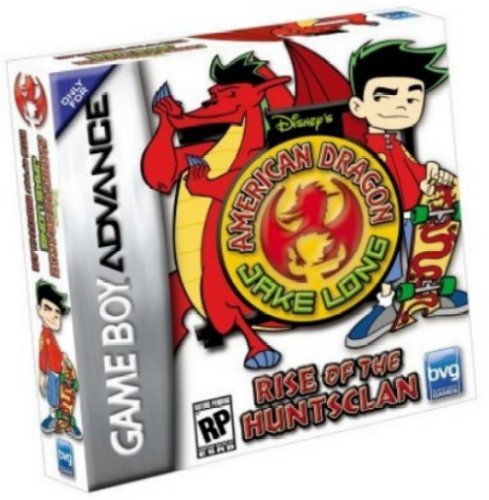 Gba Disney's American Dragon Jake Long Rise Of The H