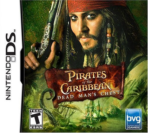 Nintendo Ds Pirates Of The Caribbean Dead Man's Chest
