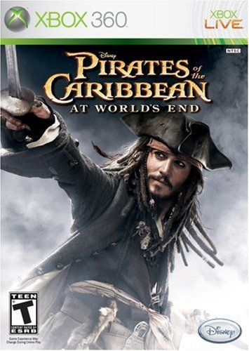 Xbox 360 Pirates Of The Caribbean 3