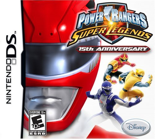 Nintendo Ds Super Legends Power Rangers