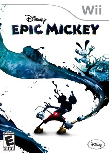 Wii Epic Mickey Disney Interactive Distri E
