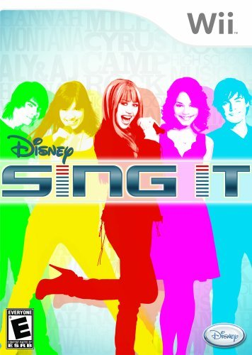 Wii Disney Sing It