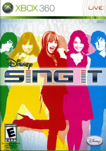 Xbox 360 Disney Sing It Bundle With Microphone