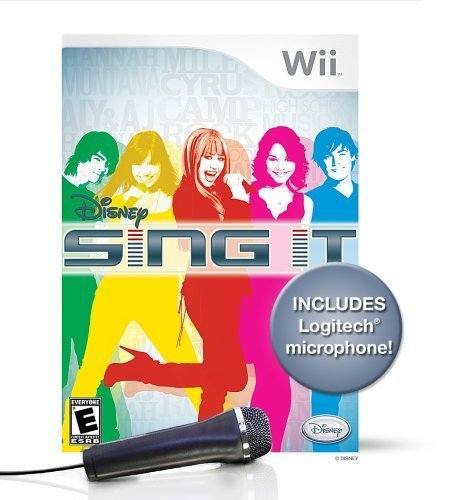 Wii Disney Sing It Bundle With Mic