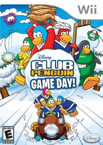 Wii Club Penguin Game Day Disney Interactive Distri E