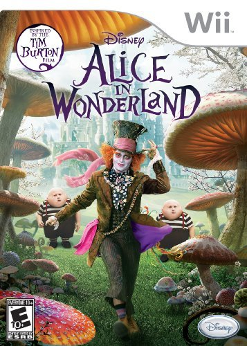 Wii Alice In Wonderland