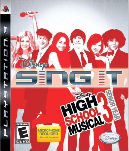Ps3 Disney Sing It High School Mus