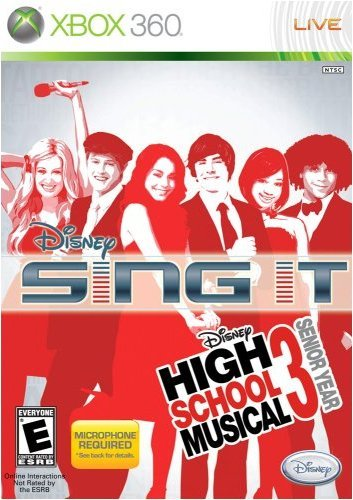 Xbox 360 Disney Sing It High School Mus