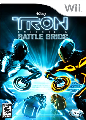 Wii Tron Evolution Battle Grid