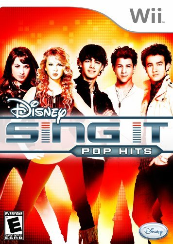 Wii Disney Sing It Pop Hits