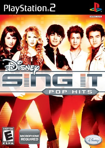 Ps2 Disney Sing It Pop Hits Disney Interactive Distri E