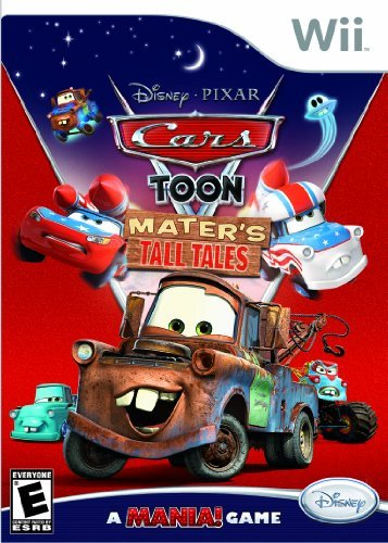 Wii Car Toon Maters Tall Tales E
