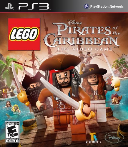 Ps3 Lego Pirates Of The Caribbean Disney Interactive Distri E10+