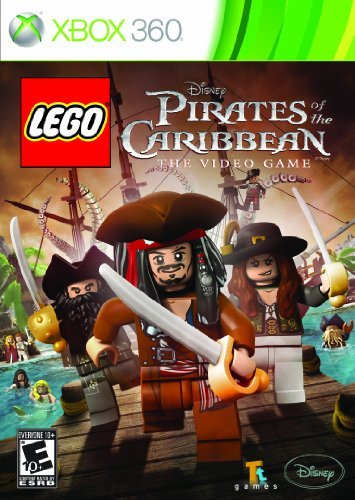 Xbox 360 Lego Pirates Of The Caribbean Disney Interactive Distri E10+
