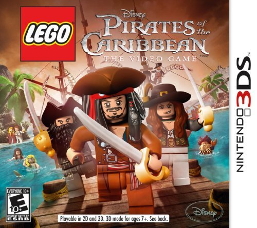 Nintendo 3ds Lego Pirates Of The Caribbean Disney Interactive Distri E10+