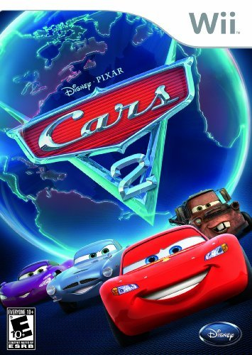 Wii Disney Pixar Cars 2 Disney Interactive Distri E10+