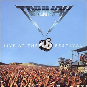 Triumph Live At The Us Festival 2 CD Set