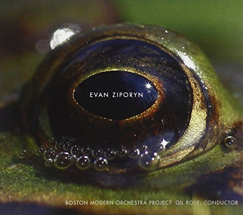 E. Ziporyn Frog's Eye Orchestral Works Rose Boston Modern Orchestra P