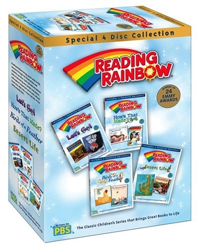 Reading Rainbow Favorites Set 2 Clr Chnr 4 DVD