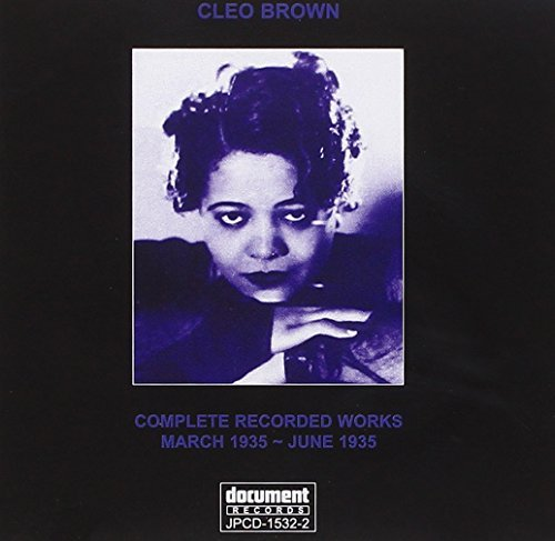 Brown Cleo Complete Recorded Works Marc