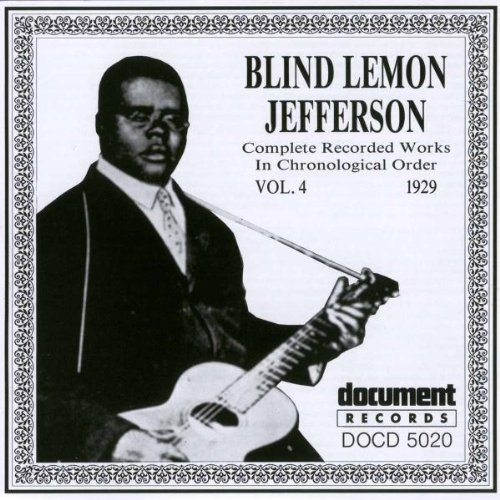 Blind Lemon Jefferson Vol. 4 (1929)