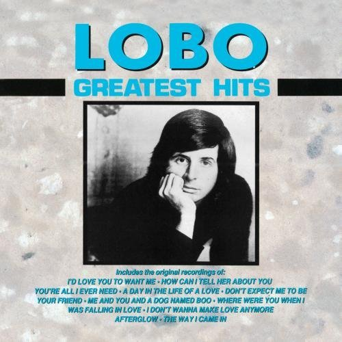 Lobo Greatest Hits CD R