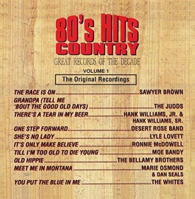 Great Records Of The Decade 80's Hits Country No. 1 CD R Great Records Of The Decade