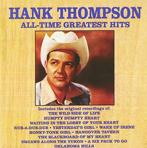 Hank Thompson Vol. 1 All Time Greatest Hits CD R