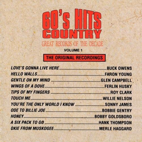 Great Records Of The Decade 60's Hits Country No. 1 CD R Great Records Of The Decade