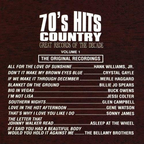 Great Records Of The Decade 70's Hits Country No. 1 CD R Great Records Of The Decade