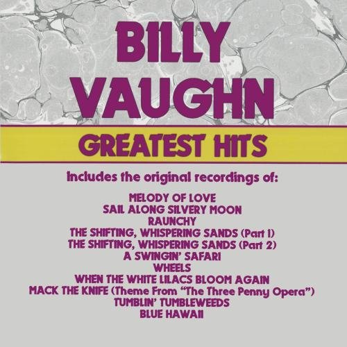 Billy Vaughn Greatest Hits CD R