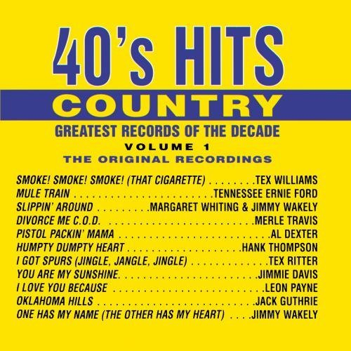 Great Records Of The Decade 40's Hits Country No. 1 CD R Great Records Of The Decadeis