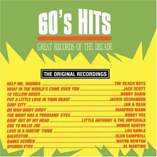 Great Records Of The Decade Vol. 1 60's Hits Great Records Of The Decade