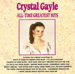 Crystal Gayle All Time Greatest Hits CD R