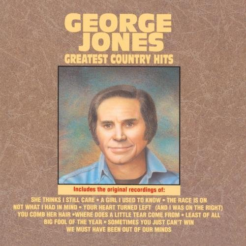 George Jones Greatest Country Hits CD R