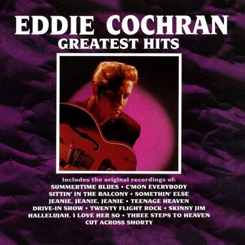 Eddie Cochran Greatest Hits CD R