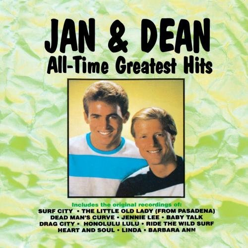 Jan & Dean All Time Greatest Hits CD R