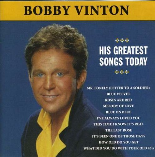 Bobby Vinton Mr. Lonely Greatest Songs Toda CD R