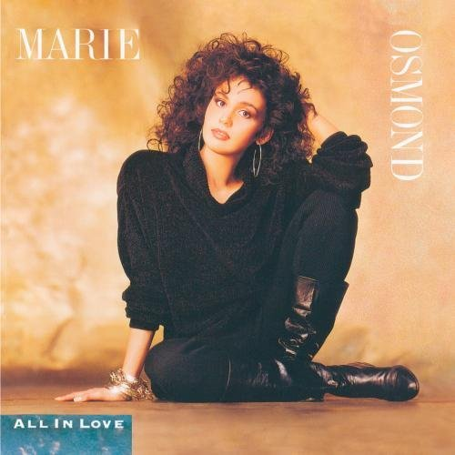 Marie Osmond All In Love CD R
