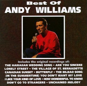 Andy Williams Best Of Andy Williams CD R