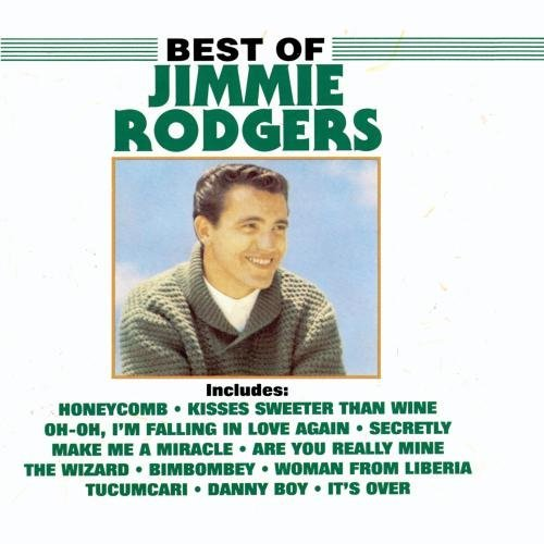 Jimmie F. Rodgers Best Of Jimmie F. Rodgers CD R