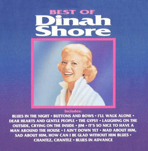 Dinah Shore Best Of Dinah Shore CD R