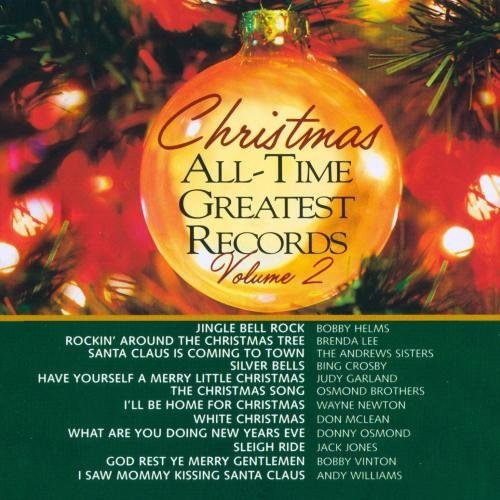 Christmas All Time Greatest Vol. 2 Christmas All Time Grea CD R Christmas All Time Greatest
