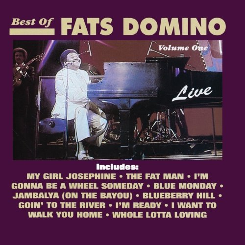 Fats Domino Vol. 1 Best Of Live Fats Domin CD R