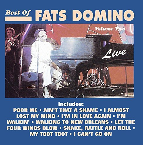 Fats Domino Vol. 2 Best Of Live Fats Domin CD R