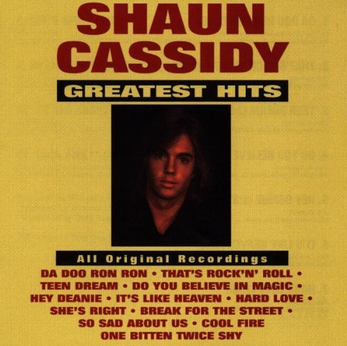 Shaun Cassidy Greatest Hits CD R